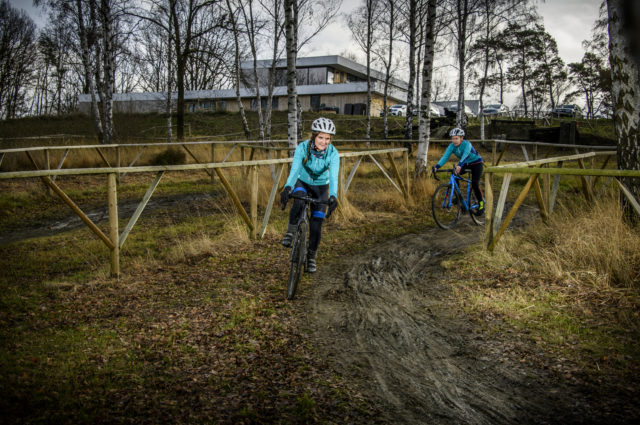 Cyclocrossparcours Sven Nys Cycling Center 46 Lander Loeckx